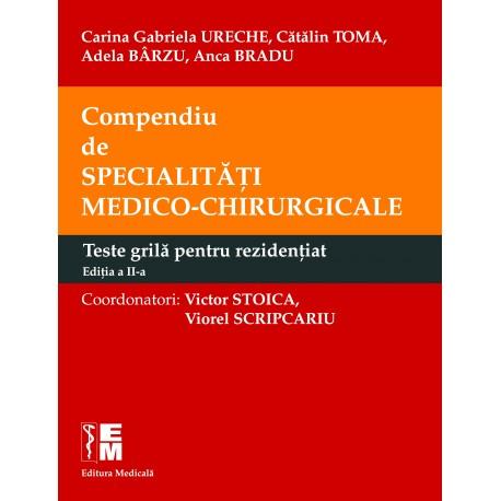 Compendiu de specialităţi medico-chirurgicale. Volumele 1 şi 2 - Victor Stoica, Viorel Scripcariu (coordonatori)
