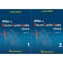 Atlas de electrocardiografie clinică – ediţia a V-a. Volumele I şi II - Corneliu Dudea