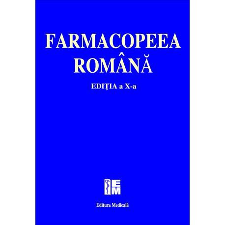 Farmacopeea Română - ediţia a X-a