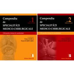 Compendiu de specialităţi medico-chirurgicale. Volumele 1 şi 2. Ediție revizuită
